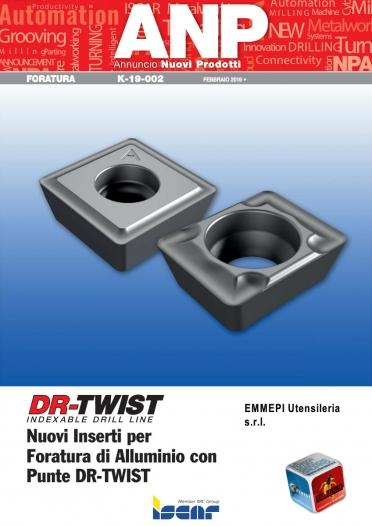 K-19-002 - Nuovi inserti per foratura di alluminio