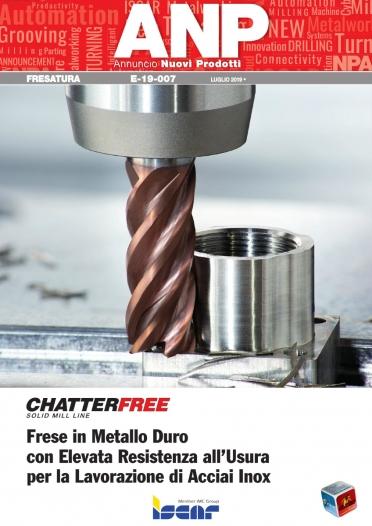 E-19-007 - Frese CHATTERFREE per acciai inox