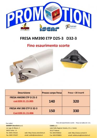 iscar_HM390_ETP Fino esaurimento scorte