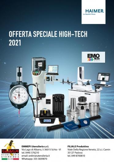 PROMOZIONE HAIMER: alta tecnologia di calettamento, presettaggio, utensili <br /> <h5> Scadenza: 31/12/2021 </h5>