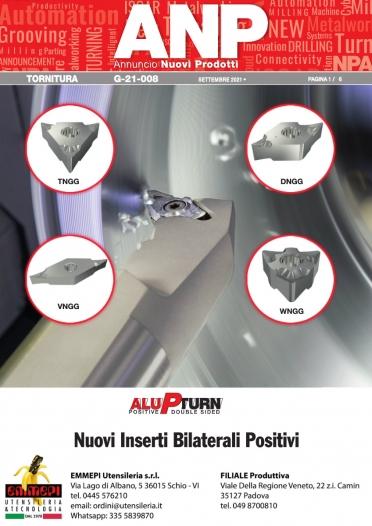 Nuovi prodotti ISCAR: inserti per alluminio