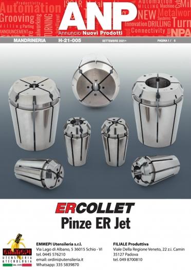 Nuovi prodotti ISCAR: Pinze ER a tenuta