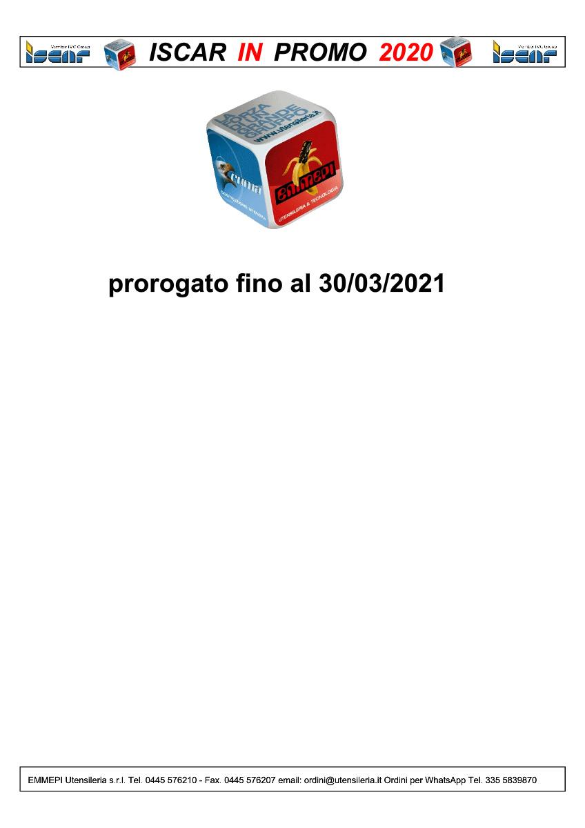 iscar_20210119 scade il25/02/2021